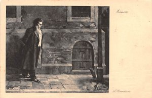 Ludwig Van Beethoven Writing on back