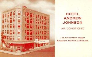 NC - Raleigh. Hotel Andrew Johnson
