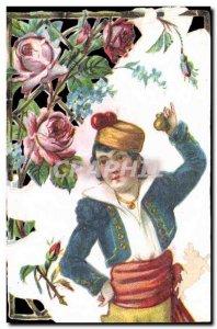 Chromo Alphonse Leroux Orchies Nord Child Costume