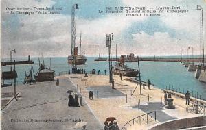 Saint Nazaire France Outer Harbour Saint Nazaire Outer Harbour
