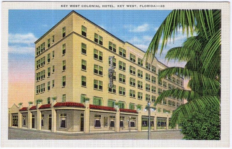 Key West, Florida, Key West Colonial Hotel