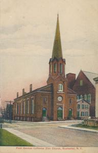 First German Lutheran Zion Church, Rochester, New York - DB