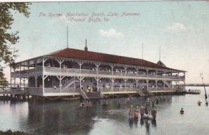 Iowa Council Bluffs The Kursal Manhattan Beach On Lake Manawa