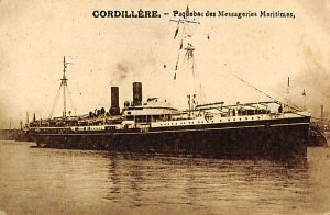 Cordillere French Misc Lines Ship Unused