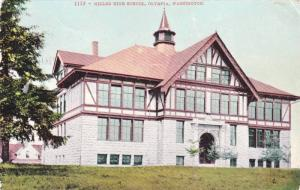 Exterior,Miller High School,Olympia,Washington,PU-00-10s