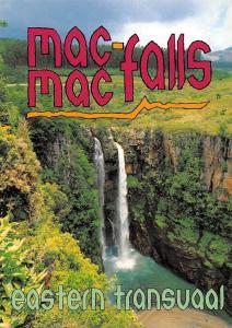 South Africa Mac Mac Falls Eastern Transvaal The Two Scotsmen Waterfall