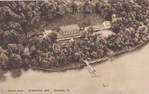 Pennsylvania Starlight Aerial View Starlight Inn Albertype