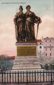 Switzerland Geneve Le Monument National 1913