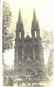 France, Carte, Postcard Real Photo - Eglise Des Reformes  Real Photo - Eglise...