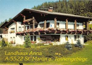 B32195 Gasthof Martinerhof oder Landhaus Anna Lammertal Seehohe Tennen   austria
