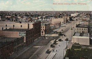 Canada Manitoba Winnipeg Main Street Looking North 1909 sk3072