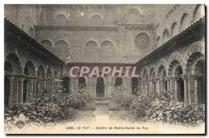 Old Postcard Le Puy Cloitre Notre Dame du Puy