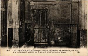 CPA PARIS (1e) La Conciergerie. Extremite du couloir (562568)