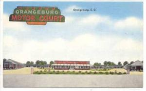 Orangeburg Motor Court, Orangeburg, South Carolina,30-40s