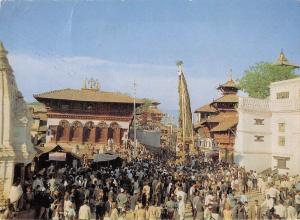 BT13290 Chariot festival of machhendranath Nepal           Nepal