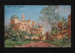 053356 David's tomb in Jerusalem Vintage PC