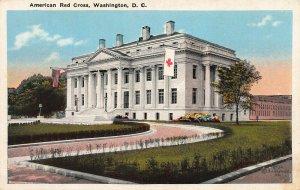 American Red Cross, Washington, D.C., Early Postcard, Used