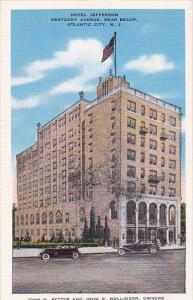Hotel Jefferson Atlantic Avenue Atlantic City New Jersey