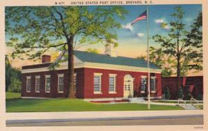 North Carolina Brevard Post Office