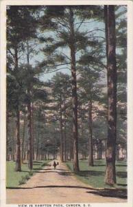 South Carolina Camden View In Hampton Park