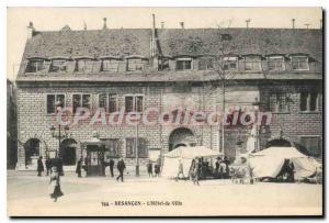 Old Postcard Besancon Hotel de Ville