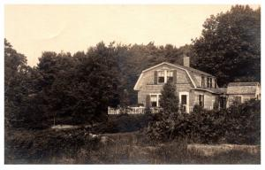 Maine  Boothbay Harbor ,  Saltbox Home  RPC