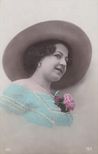 RP: [Tinted] , Woman in hat , 00-10s