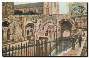 Old Postcard Nimes Porte d'Auguste