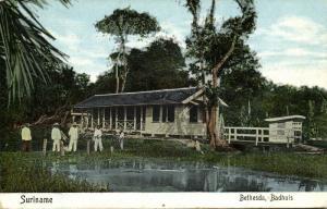 suriname, BETHESDA, Badhuis, Bath House (1910s) Moravian Mission