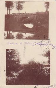 2Views, Bridge, Boros De La Chiers (Ardennes), France, 1900-1910s