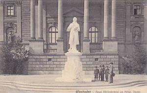 Neues Schillerdenkmal Am Konigl. Theater, Wiesbaden (Hesse), Germany, 910-1920s
