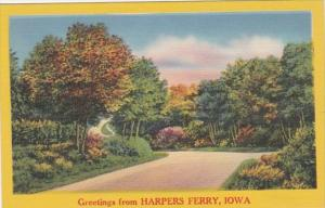 Iowa Greetings From Harpers Ferry