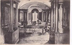 France Chateau de la Malmaison La Bibliotheque The Library