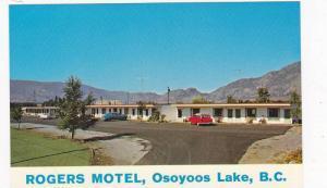 Exterior, Rogers Motel, Osoyoos Lake,  B.C.,  Canada, 40-60s