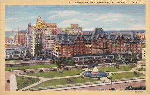 New Jersey Atlantic City Marlborough Blenheim Hotel