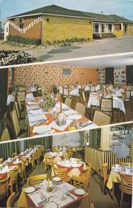 3-Views, Restaurant Ruisselet, Caplan, Cte. Bonaventure, Quebec, Canada, PU-1989