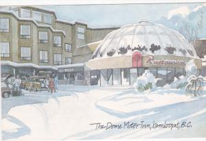 KAMLOOPS, British Columbia, Canada, 1950-1970's; The Dome Motor Inn