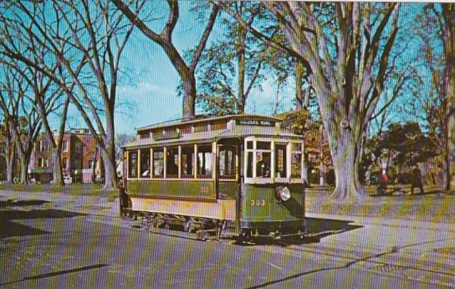 Trolley Washington D C Car No 303 6 November 1960