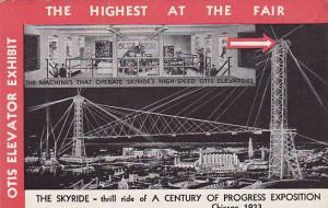 The Skyride- Thrill Ride Of A Century Of Progress Exposition, Chicago, Illino...