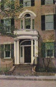 Massachustetts Salem Andrews Safford Doorway 1818