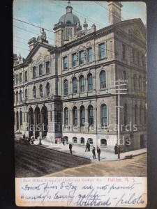 CANADA: Halifax, Post Office Corner of Hollis and George Street c1905