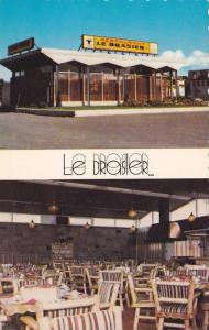 2-views,  Restaurant Le Brasier,  Enr. Rimouski,  Quebec,  Canada,  40-60s