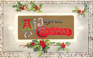 John Winsch Publisher Christmas Unused