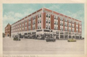 CHATHAM , Ontario , Canada , 1930s ; William Pitt Hotel