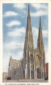 12335  New York City  1920's St. Patrick's Cathedral