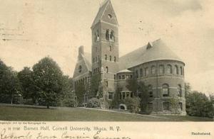 NY - Ithaca, Cornell University, Barnes Hall