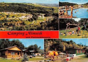 Camping Nimseck mit Ferienhaeusern Irrel Suedeifel Schwimmbad