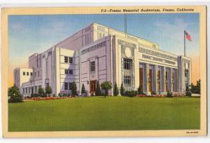 Auditorium, Fresno CA