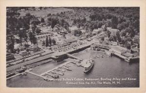 Howard Ballou's Cabins, Restaurant, Bowling Alley And Korner Kubbard From The...