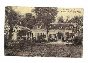 Vintage Postcard OCEAN SPRINGS MS Anchorage house hotel